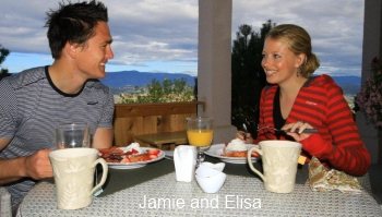 The Hopeless Romantic B&B - Jamie and Elisa